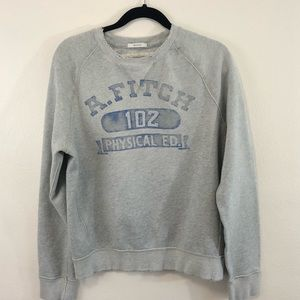 Abercrombie & Fitch muscle distressed sweatshirt M